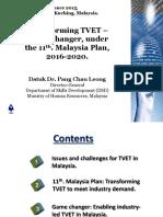 Paper Presentation 1-Datuk Dr Pang Chau Leong