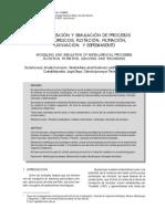1.-Modelización y Simulación de Procesos Metalúrgicos Flotación, Filtración, Lixiviación y Espesamiento.