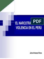 Narcotrafico y violencia