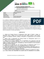 PARTICIPACION SEGUNDA ASAMBLEA