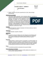Planificacion de Aula Lenguaje 6BASICO Semana 8 2015