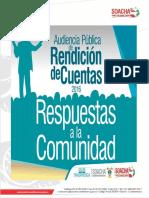 Respuestas a La Ciudadana Rendicin de Cuentas 2016