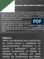 Boletín 3050 Estudio y evaluación del control interno
