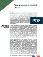 Grammar in Context by Nunan.pdf
