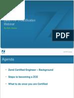 Certification Webinar
