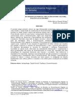Antropologia Do Desenvolvimento Relaçoes Entre Cultura Politica e Economia