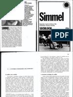 Simmel, Georg. Sociologia. (a Natureza Sociológica Do Conflito.)