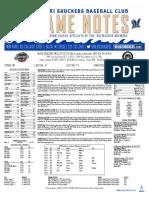 8.20.17 at JXN Game Notes