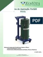 Sistema Portátil de Aspiração e Filtragem de Fumos de Solda - FX_01