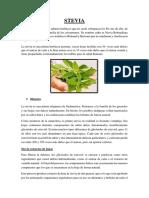 Stevia Proyecto
