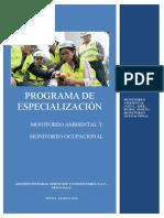 Monitoreo Ambiental y Ocupacional