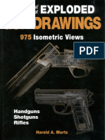 The Gun Digest Book of Exploded Gun Drawings [975 Isometric Vws.] - H. Murtz (KP, 2005) WW