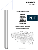 CAJA DE CAMBIOS GRS 801 SCANIA