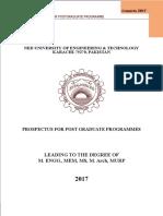 Prospectus Masters
