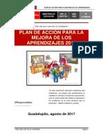 Plan de Mejora Por Los Aprendizajes