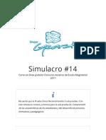 Simulacro #14 - Curso en línea gratuito Concurso Ascenso de Esc.pdf