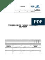 UTUNSA-SGC-MEC-006 Procedimiento Para La Soldadura Del Tie In