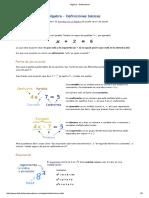 1.8.- Introducción Al Álgebra - Definiciones Básicas
