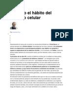 Umberto Eco y Los Celulares