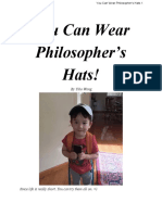 YOU Can WEAR Philosophers Hats