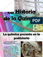 Historia de La Quimica