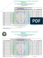 Formato de Inscripciones Para Los Clubes