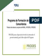 0. Programa de Formacion de Lideres Comunitarios