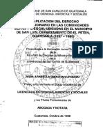 Derecho Consuetudinario Guatemala