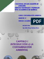 Introducion a La Contaminacion Ambiental