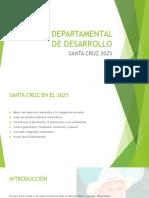 Plan Departamental de Desarrollo