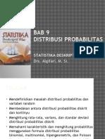 Statistika 1-Distribusi Probabilitas