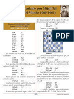 Partida Nº 4 Panchenko vs Zaitzev