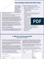 Book How to scribus Pod Digital