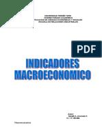indicaores macroeconomico economia por Naileth Alvarado