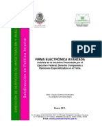 Firma Electrónica Avanzada-Diputados