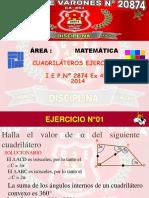 CUADRILATEROS EJERCICIOS 2014.ppsx
