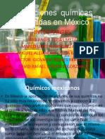 Aportaciones Químicas Generadas en México