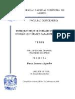Deshidratador de tomates utilizando energía geotérmica.pdf