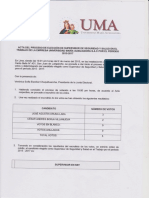 Acta Proceso