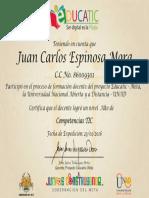Certificado en Tic