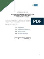 SUGEF 24-00 Reglamento Para Juzgar La Situación Fin-Econ Entidad