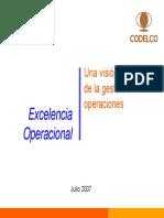 Gestión Operaciones Coya 2007