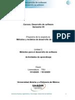 Unidad 2 Actividades de Aprendizaje DMMS