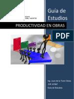 Curso de Productividad en Obras