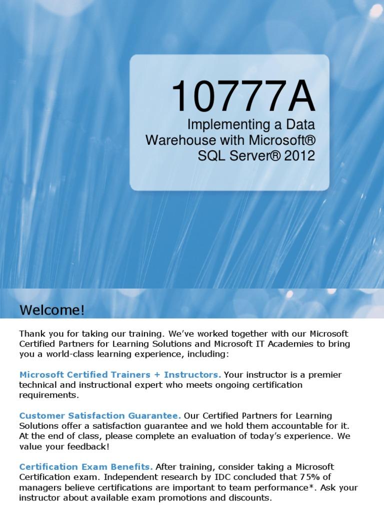 10777a00 Hyper V Professional Certification
