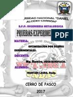proceso experimental