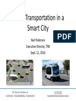 Smart Transportation in a Smart City - Neil Pedersen
