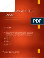 Controles WP 8