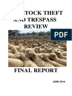 Bradshaw Review into Rural Crime