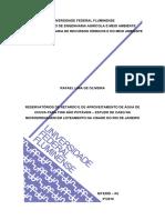 RESERVATÓRIOS DE RETARDO E DE APROVEITAMENTO DE ÁGUA DE  CHUVA PARA FINS NÃO POTÁVEIS – ESTUDO DE CASO NA  MICRODRENAGEM EM LOTEAMENTO NA CIDADE DO RIO DE JANEIRO